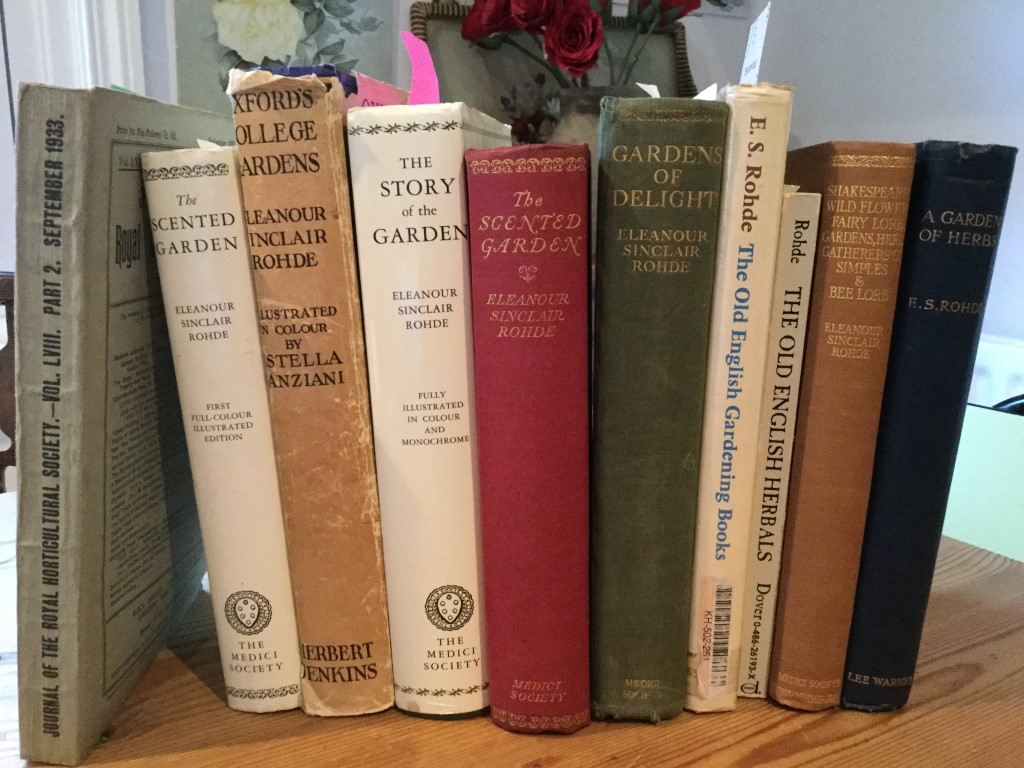 Some of Eleanour's horticultural writings.
