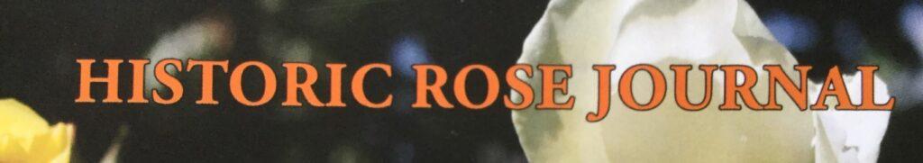 Historic Rose Journal logo