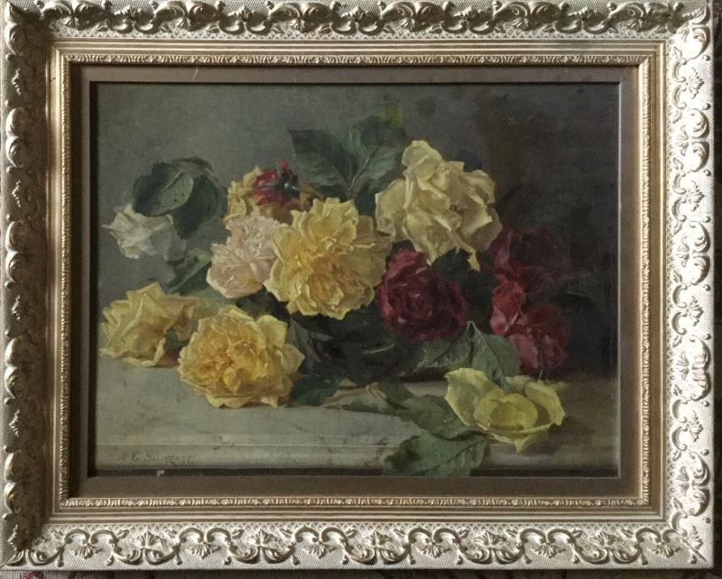 A rose painting