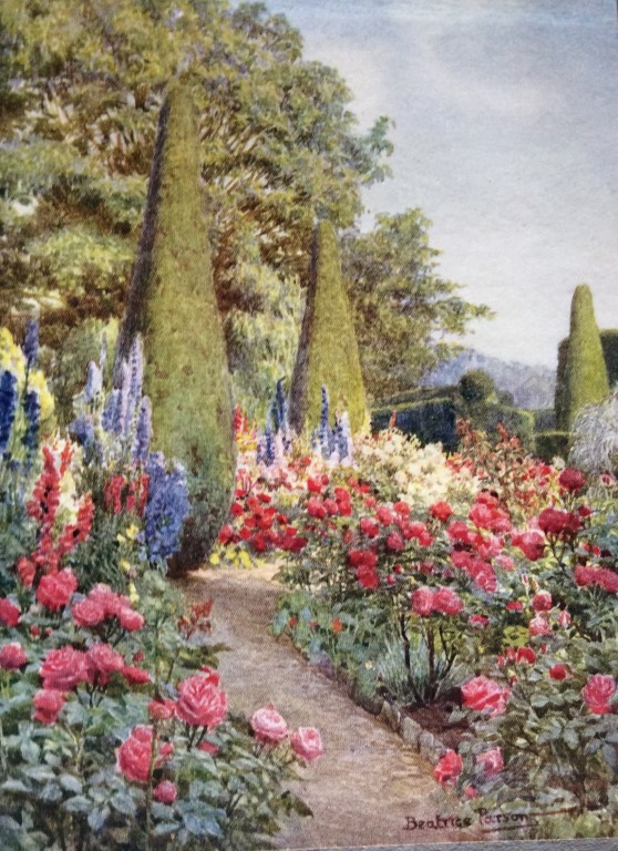 Painting by Beatrice Parsons