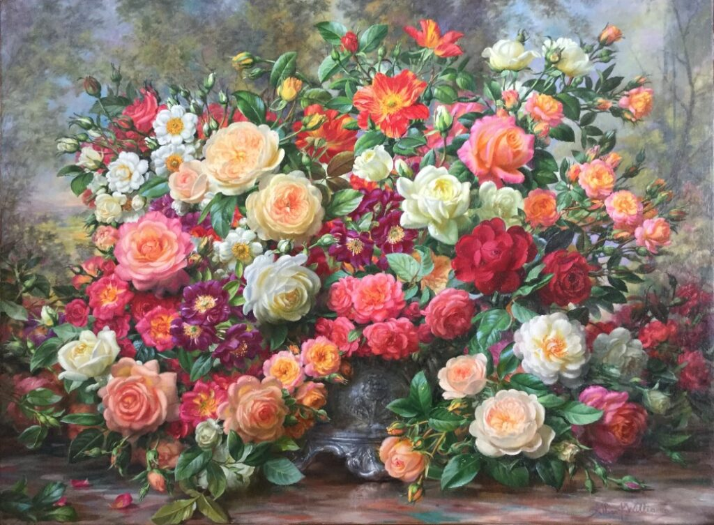 Painting by Albert Williams