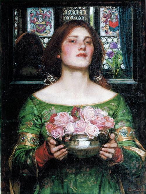 Painting by J W Waterhouse