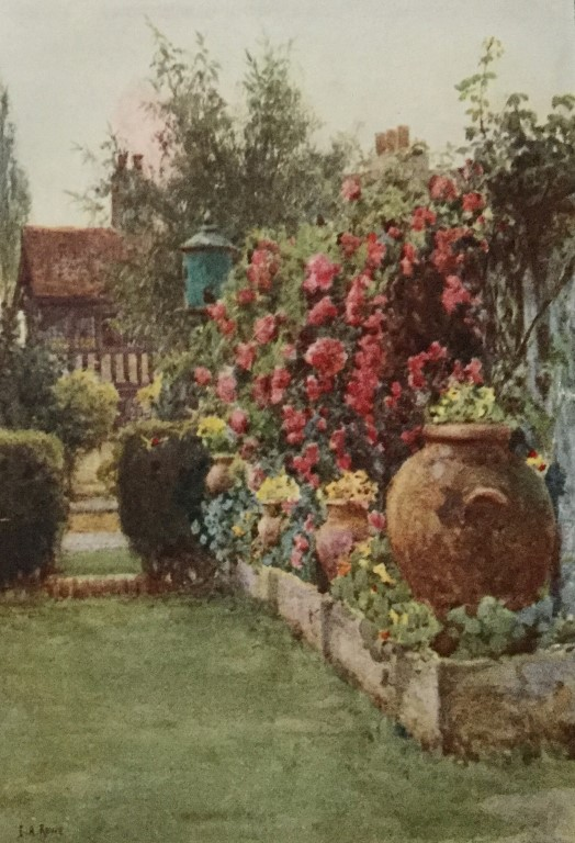 Painting from Roses and Rose Gardens