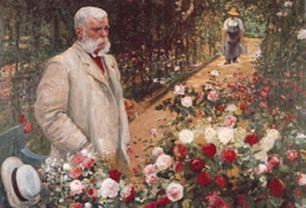 Painting of Jules Gravereaux