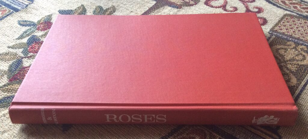 Image of Roses book